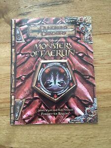 Monster Compendium : Monsters of Faerun - Forgotten Realms (D&D 3rd)