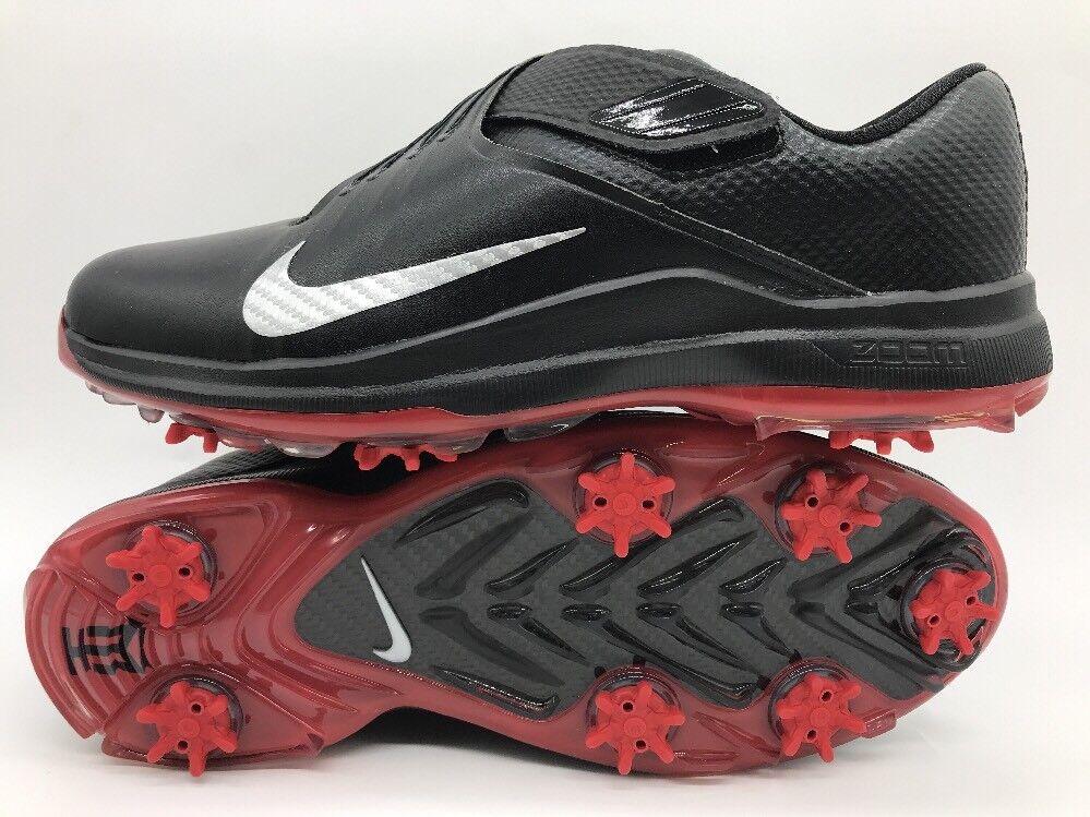 Nike tiger woods golf schuhe schwarz / metallic silber 880955 200 001 sz 9 den 200 880955 dollar. 94b4d2