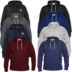 Mens-Pullover-Hoodie-Plain-Fleece-Sweatshirt-Hooded-Gym-Casual-Tops-Size-S-6XL