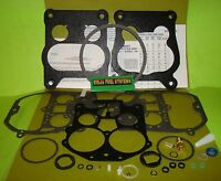 Carburetor Rebuild Kit Rochester Quadrajet Modern Fuels Buick Olds Chev 307 List