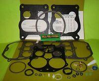 Carburetor Rebuild Kit Rochester Quadrajet Modern Fuels Buick Olds Chev 307 List