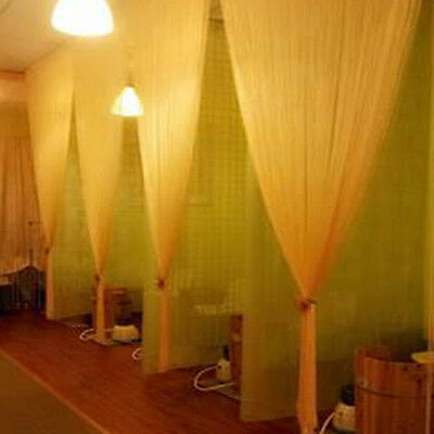 New Solid Line String Window Curtain Tassel Door Room Divider Sheer Panel Drapes