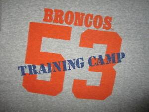 8258d417 vtg 70s 80s DENVER BRONCOS T SHIRT Orange Crush Defense Randy ...