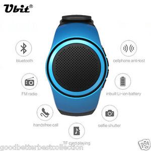 Bluetooth-Music-Watch-EDR-Sport-Speaker-TF-Card-FM-Audio-Radio-Speakers