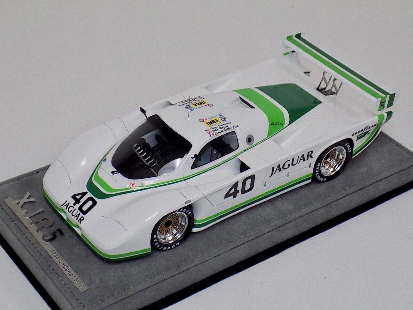 prezzi all'ingrosso 1 18 18 18 AB modellos Jaguar XJR5 1984 24 Hours of Leuomos auto  40 Day time  15 of 15  Ritorno di 10 giorni
