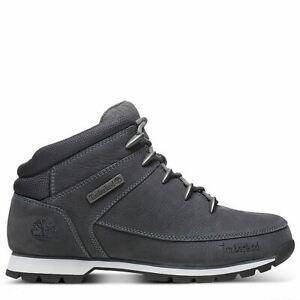 Détails sur Timberland Hommes Euro Sprint Randonneur Bottes Chaussures Hiver Gris