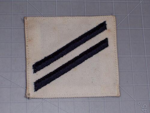 PATCH WW2 NAVY SEAMAN APPRENTC white twill rank PERIOD ORIGINAL no melt//glo E-2