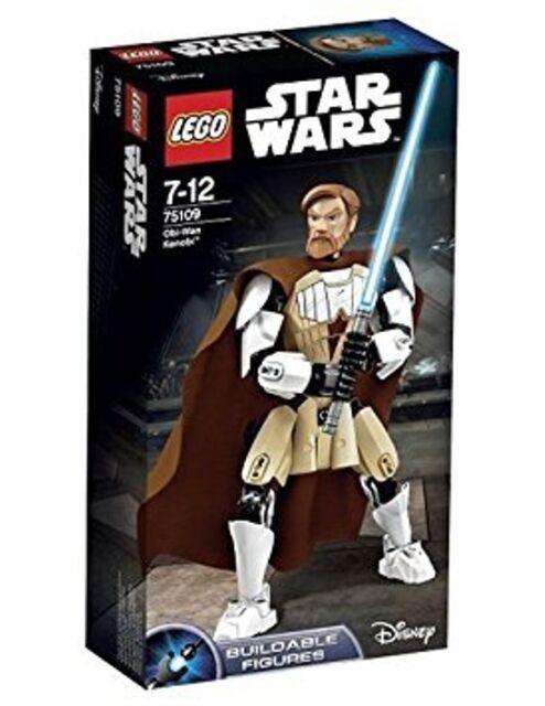 LEGO Set 75109 STAR WARS Obi-Wan Kenobi Jedi Buildable Figure Clone Wars NEW