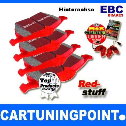 EBC Bremsbeläge Hinten Redstuff für Mercedes-Benz A-Klasse W169 DP31438C