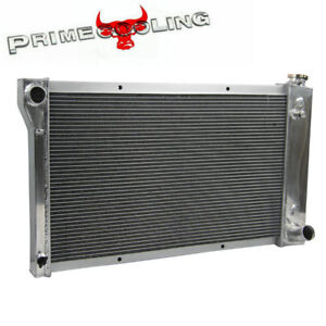 3 Row Aluminum Radiator for 67-72 Chevy//GMC C10 C20 K10 K20 Trucks 68 69 70 71