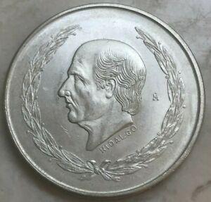 1951 Mexico 5 Pesos - Big Silver Uncirculated