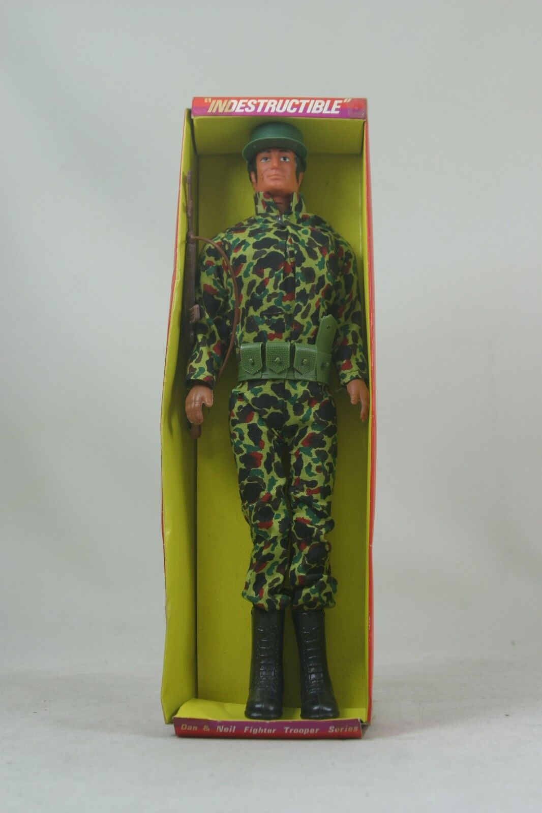 Indestructible Dan & Neil fighter trooper series action figure doll mint in box