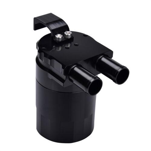 Billet Aluminum Baffled Engine Oil Catch Can For Audi S1 S2 S3 S4 S5 S6 S7 Black