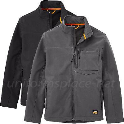 b3fc56bad55 Timberland PRO Jacket Mens Power Zip front Windproof Softshell Jacket A1HN6  | eBay