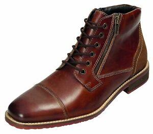 Klondike-Stiefel-Stiefeletten-Boots-Herrenschuhe-braun-40-46-MH-104H31-Neu17