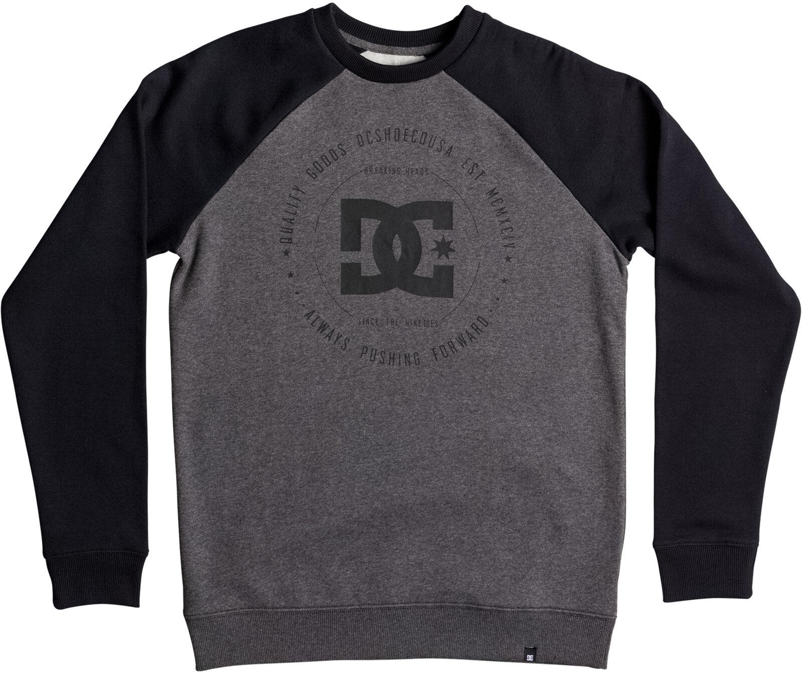 DC Rebuilt 2 Sweatshirt in Charcoal Heather