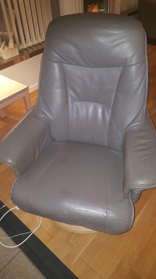 Komfortstol, læder, Kender det ikke