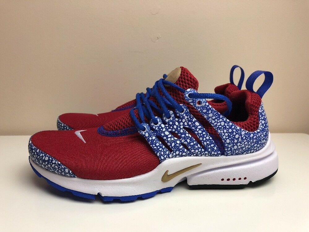 Nike Air Presto QS Safari Pack Trainers Red  Brand discount