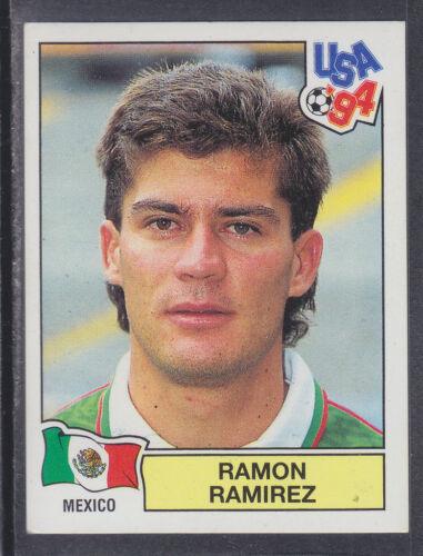 PANINI-USA 94 world cup dos vert # 345 Ramon Ramirez-Mexique