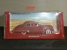 TINTIN BOOK COMIC LAND OF BLACK GOLD DIECAST MODEL BUICK ROADMASTER CAR + FIGURE