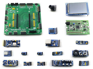 Details about STM32 Development Board STM32F4DISCOVERY Kits with 3 2inch  LCD Camera 15 Modules