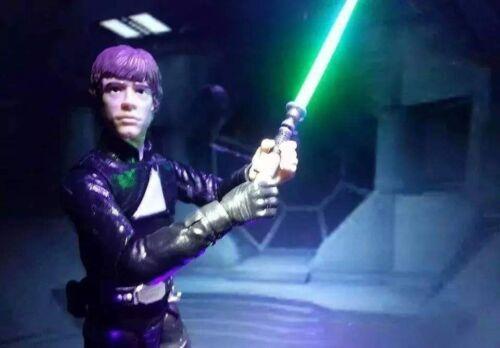 STARWARS Black Series lightsaber blades//Blaster Fire!! Bandai//S.H Figuarts