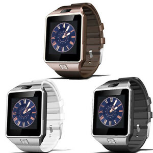 dz09 smart uhr bluetooth mit kamera android uhr telefon sim karte smartwatch neu ebay. Black Bedroom Furniture Sets. Home Design Ideas