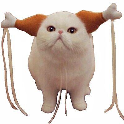 Turkey Chicken Drumstick Headband Dog Cat Headdress Costumes Funny Accessories