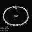 Women-925-Silver-Plated-Beads-Charm-Pendant-Bangle-Chain-Bracelet-Wristband-Gift thumbnail 39
