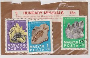V6-10-1969-Hungary-old-stamp-pack-3minerals-K