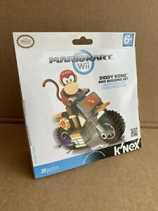 KNEX-Nintendo-Mario-Kart-Wii-DIDDY-KONG-Bike-Building-Set-Sealed-35pc