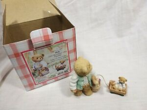 Cherished-Teddies-034-Mick-Makes-It-His-Business-To-Plan-The-Menu-034-Boxed