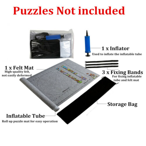 Jigsaw Puzzle Storage Mat Roll Up Puzzle Felt Storage For Up To 1500 Pieces 2020