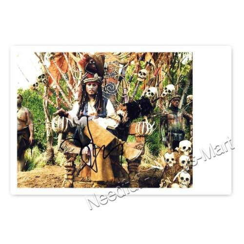Fluch der Karibik Autogrammfotokarten Auswahl Sweeney Todd ... Johnny Depp