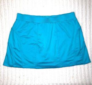 Tail-Athletic-Skort-Shorts-Skirt-Womens-Large-Blue-Pocket-Tennis-Golf-Stretch
