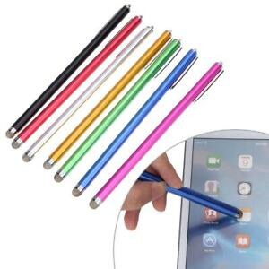 185mm Micro-Fiber Capacitive Touch Screen Stylus Pens for iPhone iPad Table PC