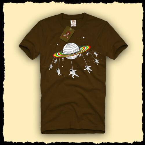 Moon Man Astronaut Mobile Space Men/'s T-SHIRT saturn nasa fun parody tee S-XL