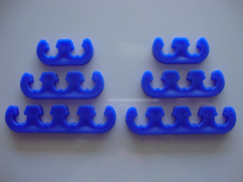 SPARK PLUG WIRE SEPARATORS BLUE 7MM 8MM LOOMS 350 454 289 302 #7339