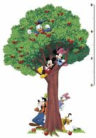 Mickey Mouse & Friends Growth Chart Wall Decals, Minnie, Donald & Daisy, Pluto