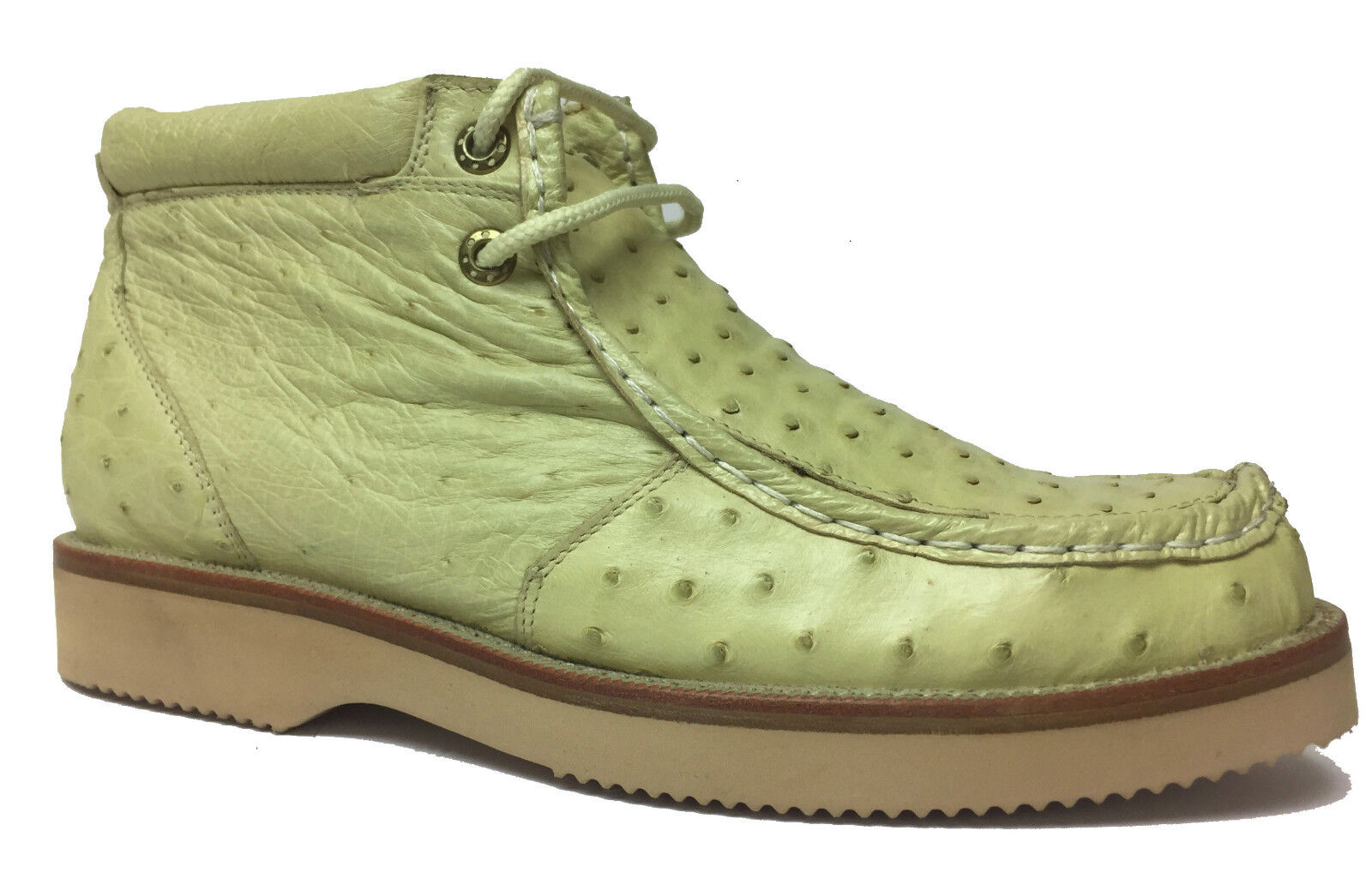 New Off White Full Real Ostrich Quill Crocodile Shoes Sneakers Western Boots
