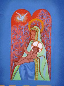 Mutterschaft-Vereinte-Nationen-Noel-1946-Peace-auf-Ton-Amor