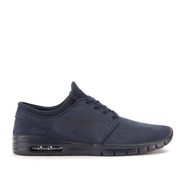 Nike SB Stefan Janoski Max L Mens Shoes Navy Blue 685299 440