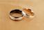 Anelli-Anello-Coppia-Fedi-Fede-Fedine-Fidanzamento-Nuziali-Cristallo-Oro-Argento miniatura 2