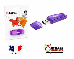 Clef USB 8Go Emtec cle USB 8 Go USB Flash Drive Color Mix USB 2.0 clé USB 8