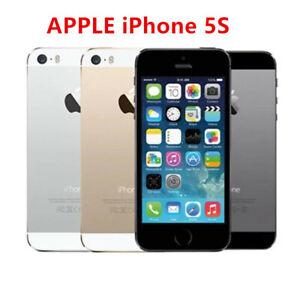 Original APPLE iPhone 5S 16GB/32GB/64GB Black Silver Gold IOS 1 year warranty