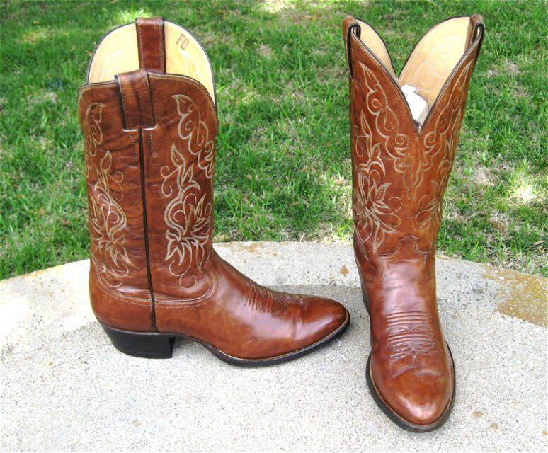 2899adb24 COWBOY BOOTS MEN S 9 D WESTERN JUSTIN zplybx6948-Boots - hunting ...