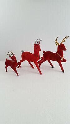 rospro  plastic deer with jingle bells