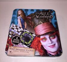 """Disney """"Alice In Wonderland"""" The Board Game - In Collectible Tin Box by Cardinal"""