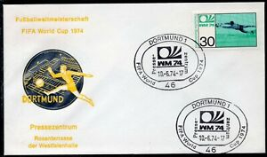 049 - Germany 1974 - FIFA - World Cup - Dortmund - Press Center - Cover