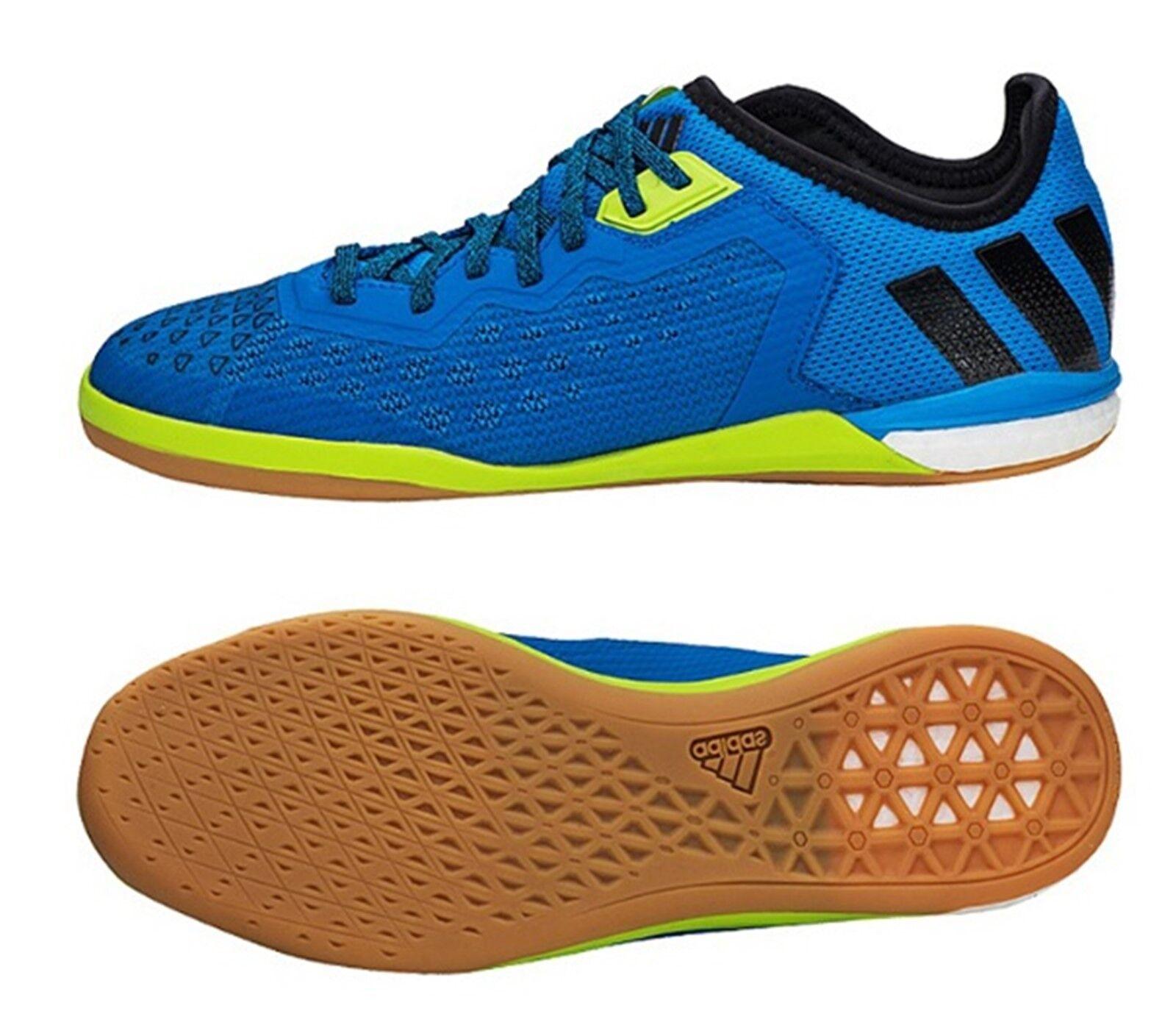 Adidas Azul Interior Tribunal Ace 16.1 Hombre Zapatos de fútbol Zapatos bota de Futsal AF4250